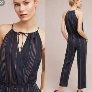 Anthropologie Dolan Halter Jumpsuit